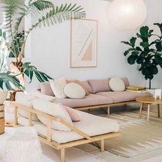 Boho living room. For more, visit houseandleisure.co.za
