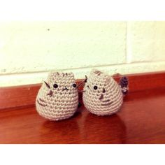 Amigurumi Pusheen DOLL ($11) ❤ liked on Polyvore featuring pusheen