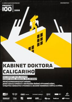 The Cabinet of Dr Caligari Czech Movie Poster Werner Krauss R 2008 | eBay