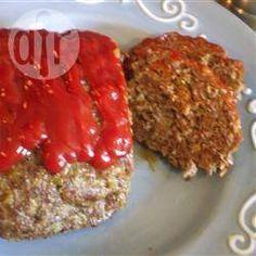 Pastel de carne glaseado @ allrecipes.com.mx
