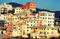 http://www.iliguria.net/genova-its-a-jolly-holiday-with-mary/ Pesto and Boccadasse