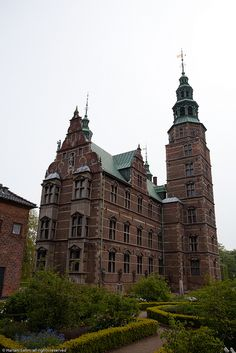 Rosenborg Castle, Copenhagen, Denmark. A Dutch Renaissance palace and gardens, including a museum housing the crown jewels, with guided tours. It was originally built as a country summerhouse in 1606 and is an example of Christian IV's many architectural projects.