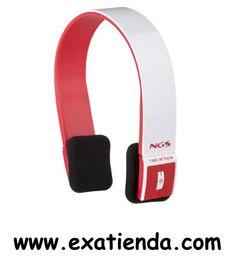 Ya disponible AURICULAR + MIC NGS BT ARTICA ROJO                          (por sólo 33.92 € IVA incluído):   -Cuando pensábamos que todo estaba ya inventado, llega NGS con estos increíbles auriculares. Black y Red Artica destacan por su conexión vía Bluetooth (V2.1 + EDR) que te permitirá disfrutar de tu música a distancia, con un radio de alcance de hasta 10 metros desde tu dispositivo. Puedes elegir entre estas dos versiones: blanco combinado con rojo o negro con