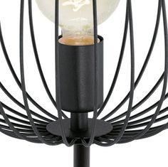 EGLO Newtown - Vloerlamp - 1 Lichts - Hoogte 1595mm. - Zwart Led Lamp, Home Appliances, Lighting, Retro, Home Decor, Products, Taps, House Appliances, Kitchen Appliances