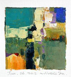 jan262012   oil on canvas 9 cm x 9 cm hiroshi matsumoto w…   Flickr