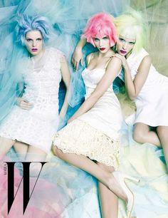 Rainbow Candy by W Magazine