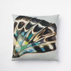Butterfly Dream Silk Pillow Cover by PillowNpilloW on Etsy, $22.00