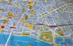 Why Not Walk It? London Olympic Map. Map targeted for the visitors of the 2012 London Summer Olympic games - specifically designed for pedestrian tourists