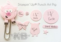 Stampin' Up! Australia: Kylie Bertucci Independent Demonstrator: A new Animal Punch Art Kit!!