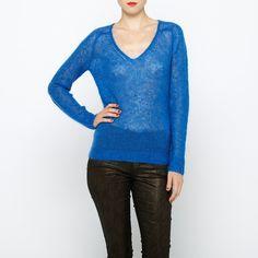 BERENICE   Pull bleu