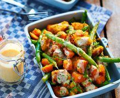 Gezond en snel recept: Sweet chicken salad van Rens Kroes -Cosmopolitan.nl