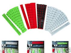 Total 320 stickers for wiring pins and 9 extra stickers for atmega 328p-pi.