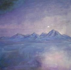 Purple Haze and Floating Mountains in the Sky Jen Hallbrown