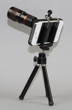 8x Telephoto Lens kit for iPhone 4/4S by Yamamoto Industries at karmaloop.com
