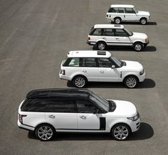 45 years and four generations of the Range Rover