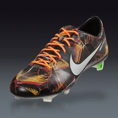 Nike Mercurial Vapor IX LE FG  - Black/White/Laser Orange  Firm Ground Soccer Shoes