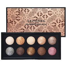 SEPHORA COLLECTION Moonshadow Baked Palette 'In The Nude' #makeup #beauty