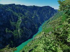 Tara river, deepest canyon in Europe, Montenegro