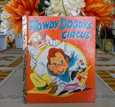 Little Golden Book Howdie Dood'ys Circus by TheLazyBeeBookstore, $9.99