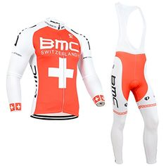 Strgao 2016 Mens Pro Racing Team MTB bike Bicycle Cycling Long Sleeve Jersey  and Bib Pants c4ef17ae6