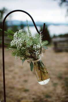 Photography: Whitney Krutzfeldt - wckphotography.com  Read More: http://www.stylemepretty.com/canada-weddings/2015/04/07/rustic-elegant-wedding-on-galiano-island/