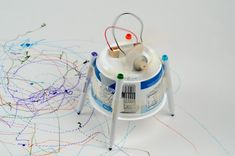 Make a Scribbling Machine : Build your contraption - TOTALLY awesome.  SOOOO going to make this with the boys.