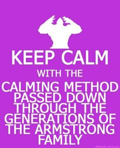 It has been passed down the Armstrong family for GENERATIONS!!!