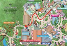 Hollywood Studios Rope Drop Strategy [W/ Runaway Railway] - Mouse Hacking Disney World Parks, Disney World Planning, Walt Disney World Vacations, Disney Trips, Disney Map, Disney Hotels, Orlando Travel, Orlando Vacation, Hollywood Studios Map