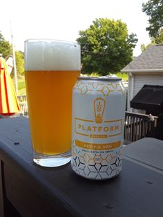 Another good IPA in Platform Beer Company's Small Batch IPA Series. This one with Pacifica, Cascade, and Amarillo hops and the addition of flaked oats and raw wheat.