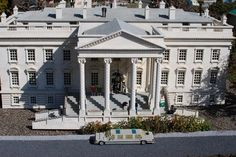 The White House in Miniland USA at LEGOLAND California | Theme Parks in CA | Family Fun | Summer