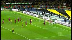 DFB-Pokal: Bayern München-Bor.Dortmund 2:0