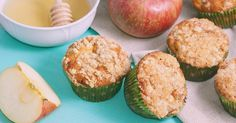 These Muffins are great for school lunch box treats, perfect eaten warm or cold, add custard with them to turn into a delicious dessert or freeze for cups Rolled teaspoon baking teaspoons cinnamon¼ teaspoo Oat Muffins, Avocado Egg, Quick Bread, Apple Pie, Deserts, Brunch, Treats, Snacks, Baking