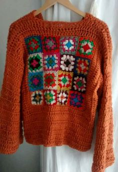 Me encanta bonito sueter Mode Crochet, Crochet Wool, Crochet Jacket, Crochet Cardigan, Crochet Baby, Crochet Granny, Crochet Lingerie, Crochet Stitches Patterns, Crochet Fashion