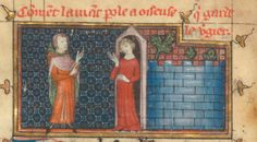Roman de la Rose @RoseDigLib  ·  5 июня Idleness greets the Lover in MS Bibliothèque municipale de Châlons-en-Champagne.