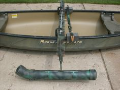 How to Make Canoe Stabilizers | http://i1012.photobucket.com/albums/af241/finkm1/Outriggers003.jpg