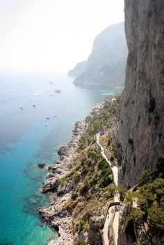 Italy Capri - one of the most beautiful places in the world! Places Around The World, Oh The Places You'll Go, Places To Travel, Places To Visit, Travel Destinations, Dream Vacations, Vacation Spots, Wonderful Places, Beautiful Places