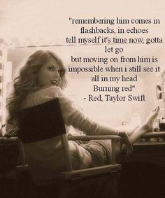 Red- Taylor Swift