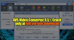 avs video editor 8.0.4.305 torrent