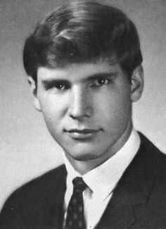 A very young and particularly clean Harrison Ford :)