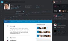 LinkedIn redesigned - a concept on how we might undertake business in the future