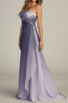 Military Strapless Ball Evening Gown Chiffon Wedding Prom Dress Bridesmaid M