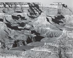 ANSEL ADAMS  1902 - 1984 Grand Canyon National Park, from Yavapai Point Date:	1941