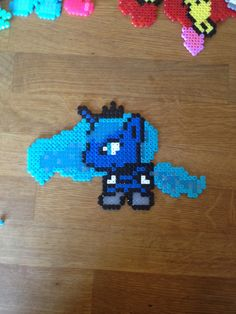 Princess Luna. My little pony. Bead pattern.