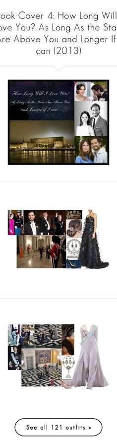 """""""Book Cover 4: How Long Will I Love You? As Long As the Stars Are Above You and Longer If I can (2013)"""" by louiseingrid-ofdenmark ❤ liked on Polyvore featuring Carolina Herrera, Wilbur & Gussie, DK, Paul Andrew, H.R., Valentino, Manolo Blahnik, Reception, Gucci and Falke"""