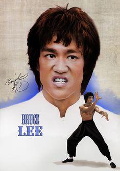 Bruce Lee - the master Eminem, Brice Lee, Bruce Lee Pictures, Black Panther Storm, Lee Movie, Bruce Lee Art, Richard Dawson, Brothers Movie, Brandon Lee