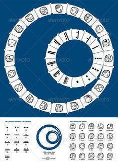 Tzolkin Maya Calendar #graphicriver