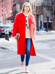 """Oversized Outerwear: Don't let the word """"oversized"""" scare you away! via @WhoWhatWear"""