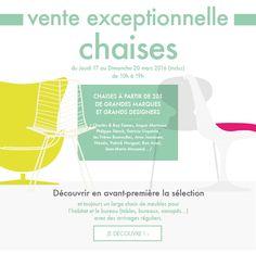 Destockage meuble - vente exceptionnelle chaises design