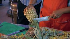 Perfectly Peeled Pineapple