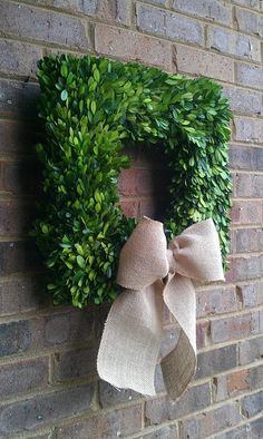 16 inch Thick Square Preserved Boxwood by simplystunninghome